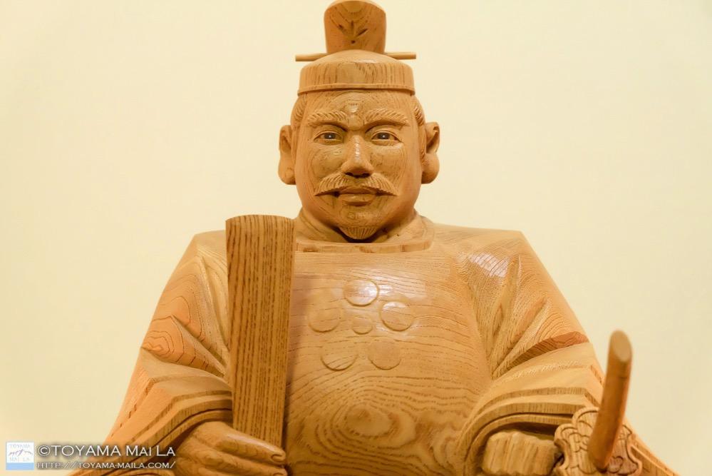 天神様 井波彫刻 木彫り 2