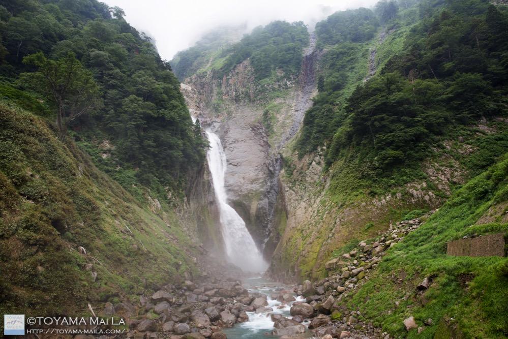 富山 百名瀑 称名滝 日本一 立山 7