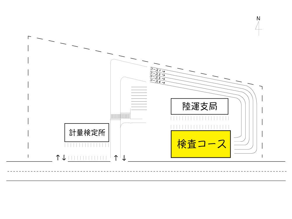 富山 ユーザー車検 検査コース