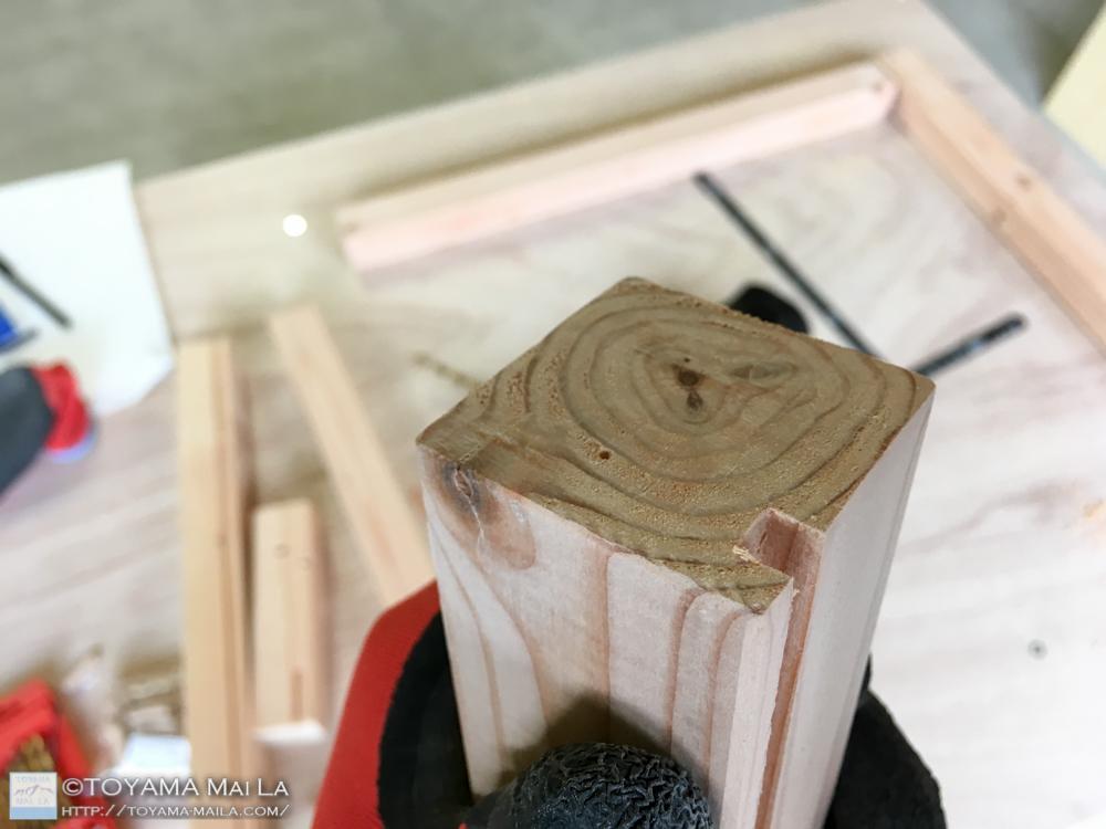 DIY おむつ台 13