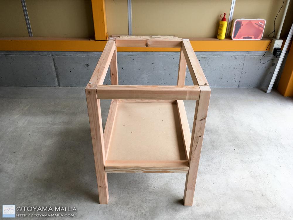 DIY おむつ台 25