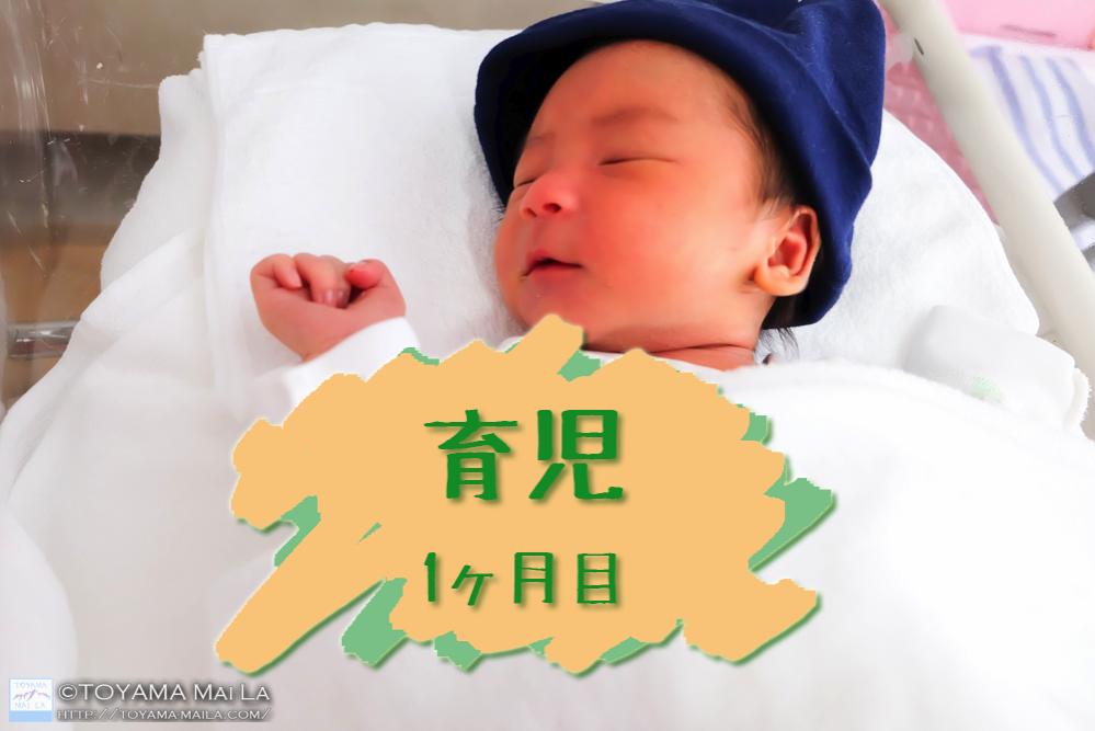 育児 1ヶ月目