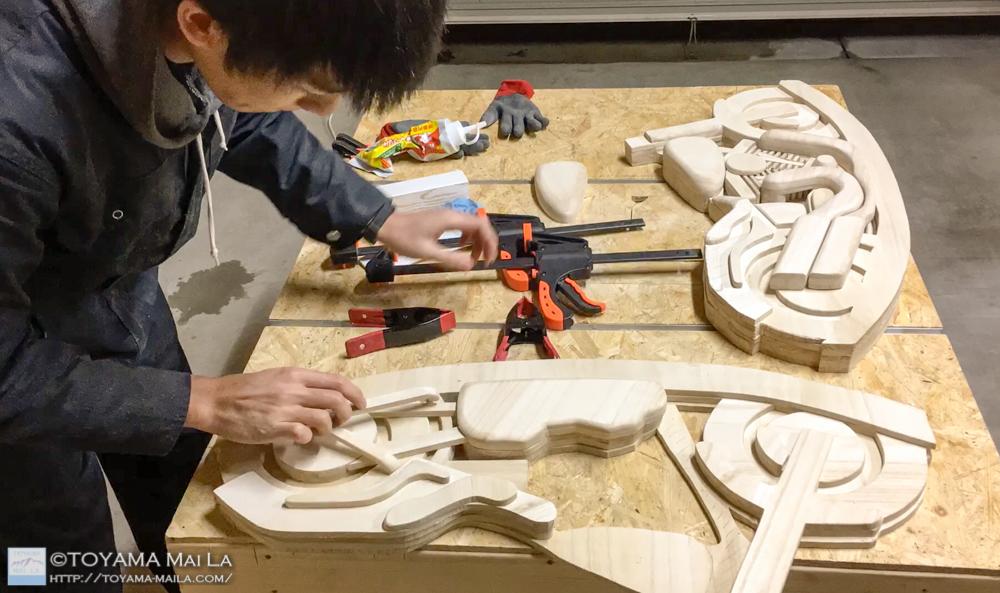 木バイク Day12 木馬 DIY 4