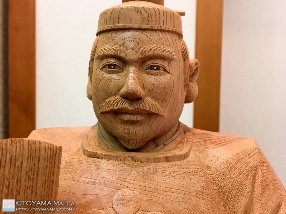 天神様 井波彫刻 木彫り 9