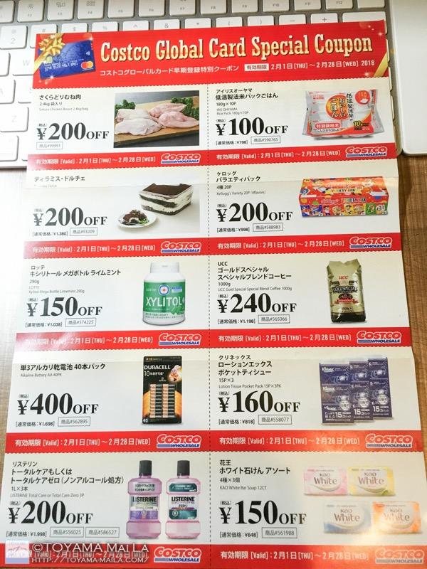コストコ クレジットカード コストコグローバルカード 届く 3