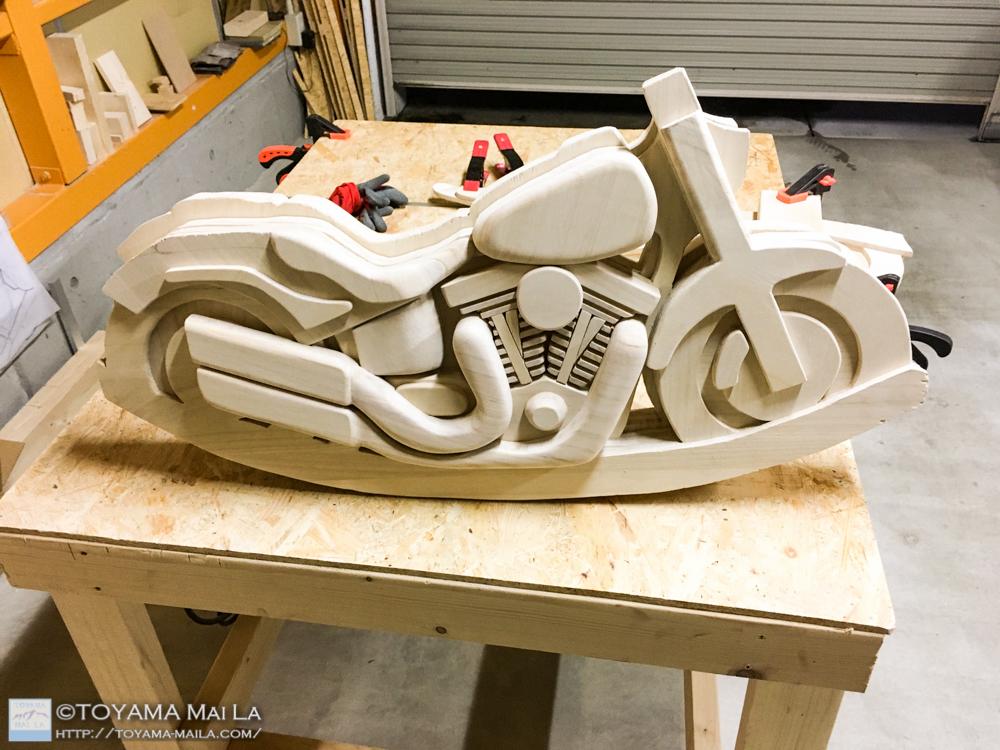 木バイク Day12 木馬 DIY 1