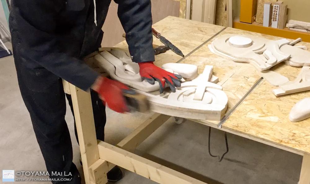 木バイク Day12 木馬 DIY 5