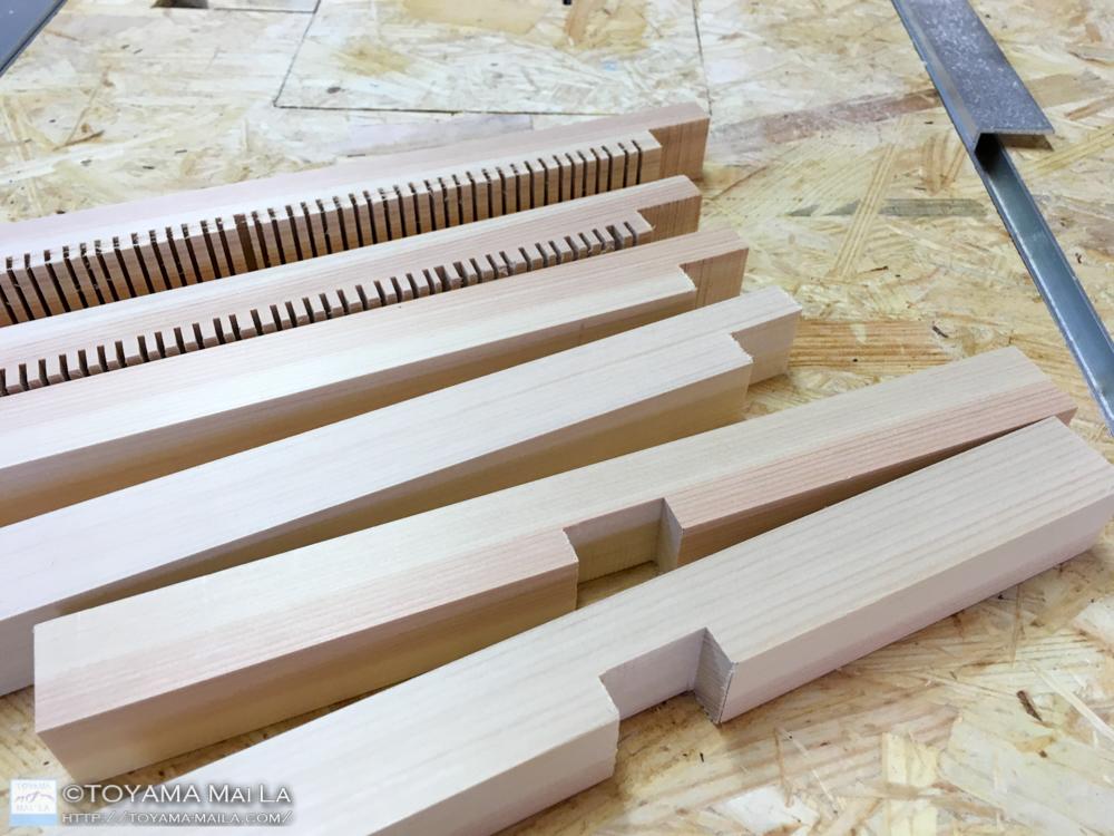織り機 DIY weaving loom 3
