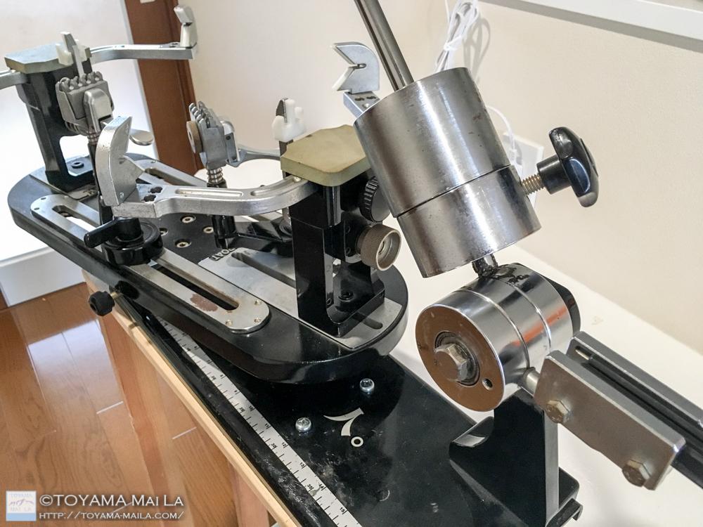 ストリングマシン 分銅式 心臓部分 バネ ドラム 交換 3