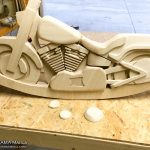 [Day15]木バイク左側の全体像が見えてきました!底部分の作成もスタート!