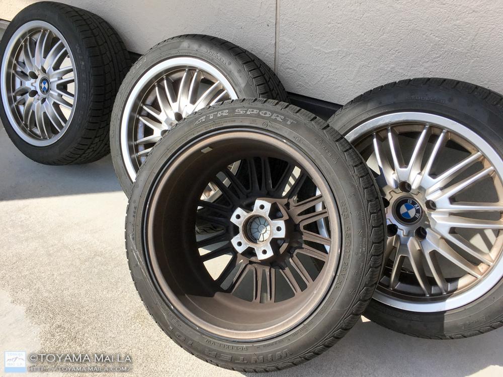 BMW ホイール 鉄粉 クリーナー 洗う 汚れ 1