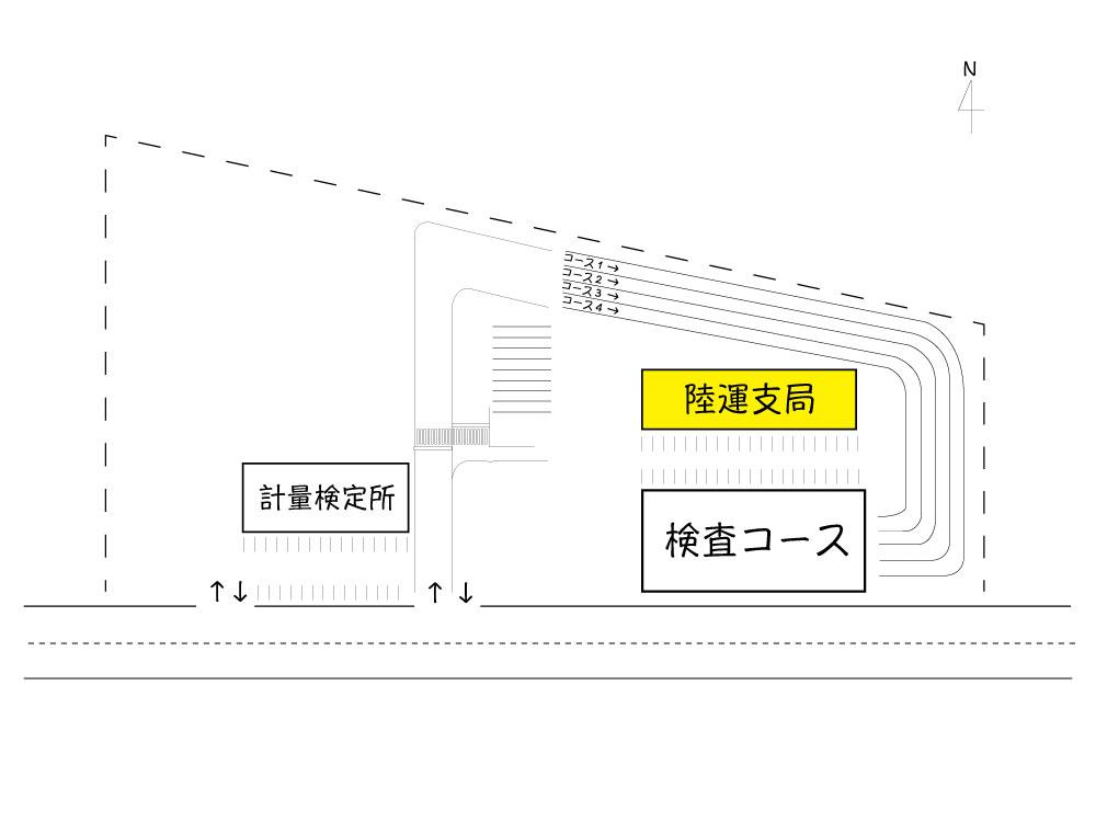 富山 ユーザー車検 陸運支局
