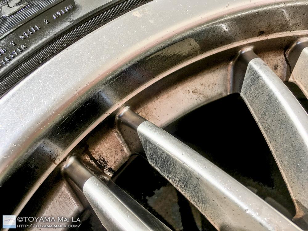 BMW ホイール 鉄粉 クリーナー 洗う 汚れ 6