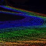 明日まで!牛岳ライトアップ「虹のかけはし」行くまで本当にやってるのか不安だけど、やってるから行ってみて!