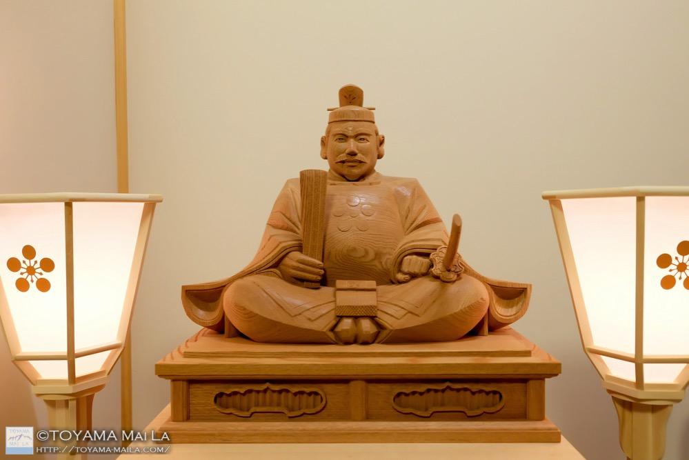 天神様 井波彫刻 木彫り 1