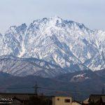 【昨日の立山】雪がさらに積もって、低い山も積もってきています!