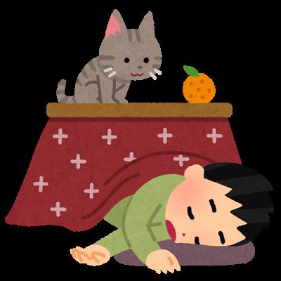 Kotatsu neru