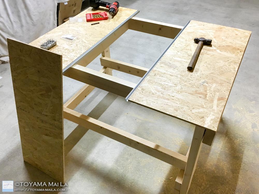DIY テーブルソー 自作 8