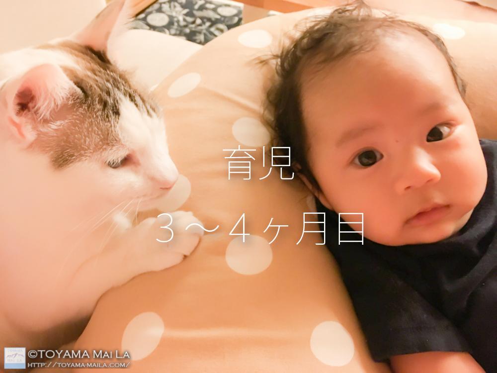 育児3−4ヶ月目