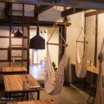 滑川の【ハンモックカフェAmaca(アマカ)】ハンモックにゆられながらイイ時間が過ごせます