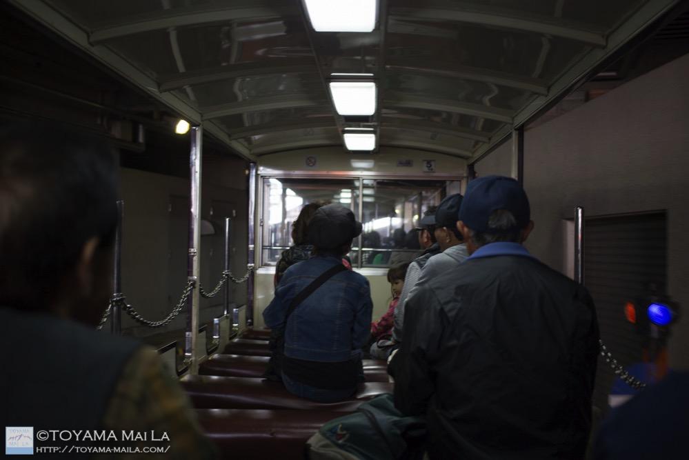黒部峡谷鉄道 トロッコ 紅葉 14