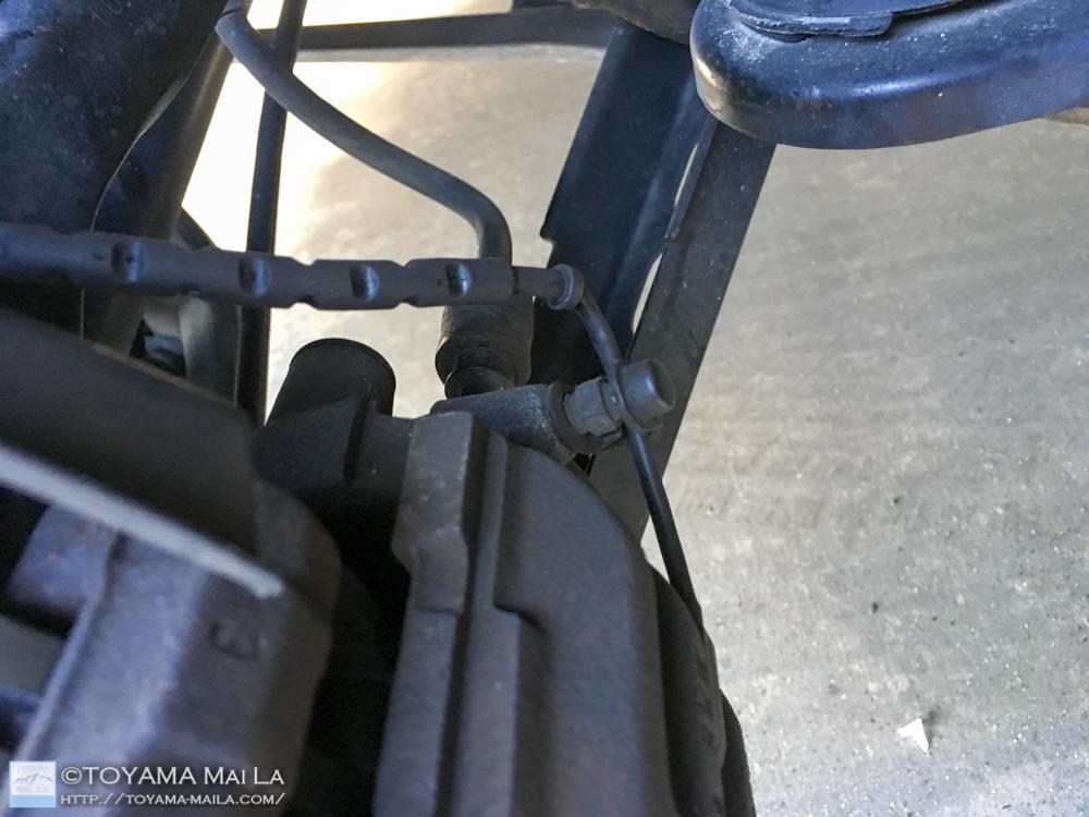 BMW E91 リアブレーキローター ブレーキパット 交換 DIY 34