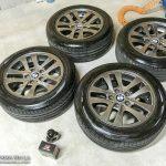 タイヤを長持ちさせる保管術とは?水性ワックス塗って横積みが最適っぽい