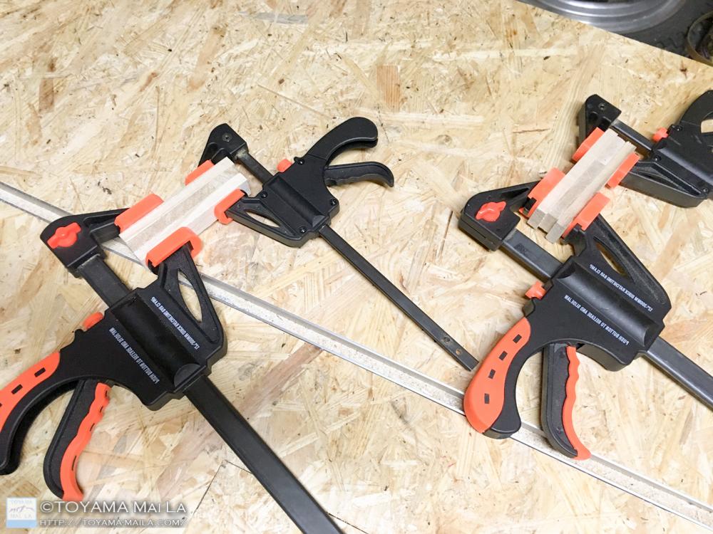 木バイク エンジン フィン部分 木馬 DIY 5