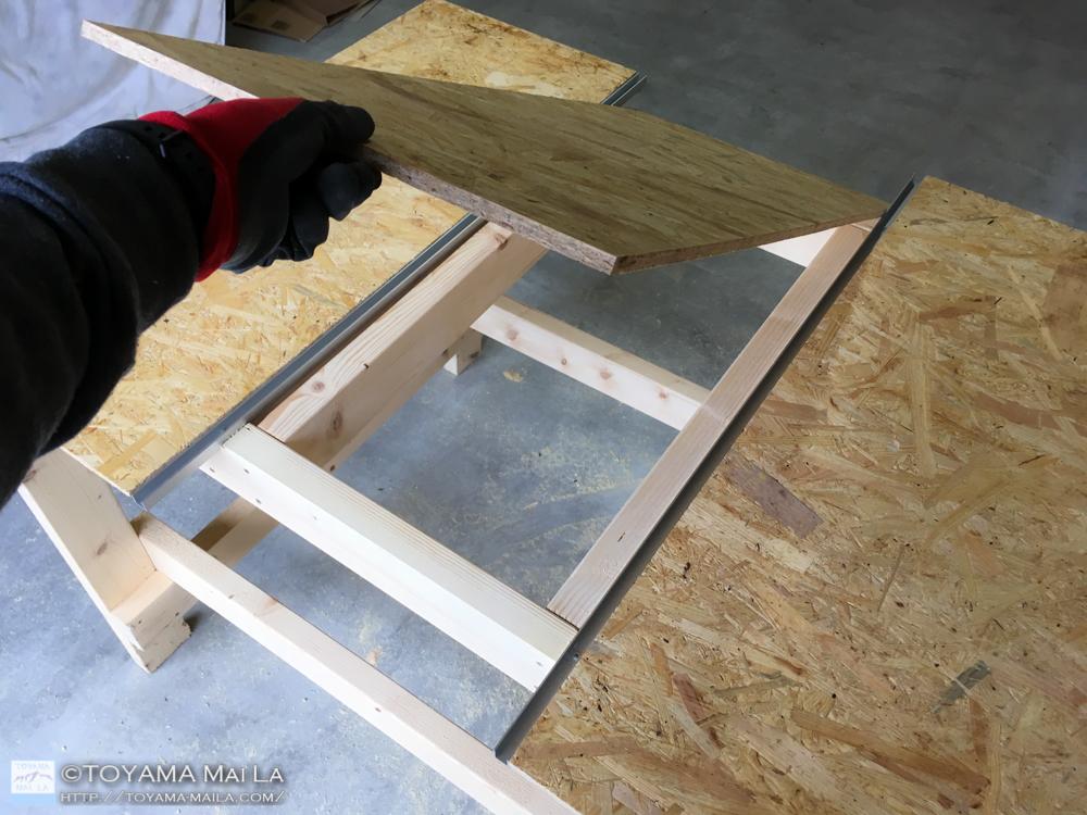 DIY テーブルソー 自作 10