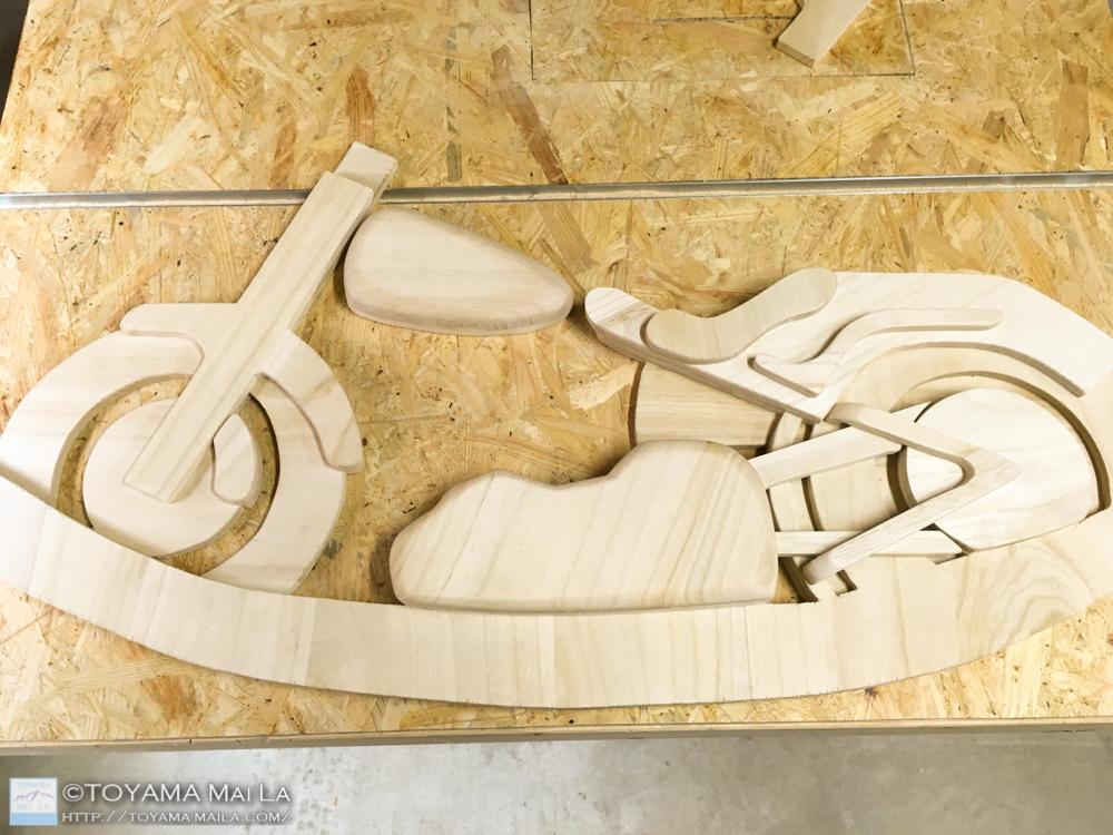 木バイク Day13 木馬 DIY 1