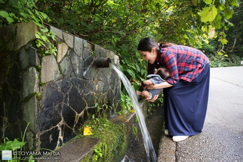 富山 百名瀑 称名滝 日本一 立山 1