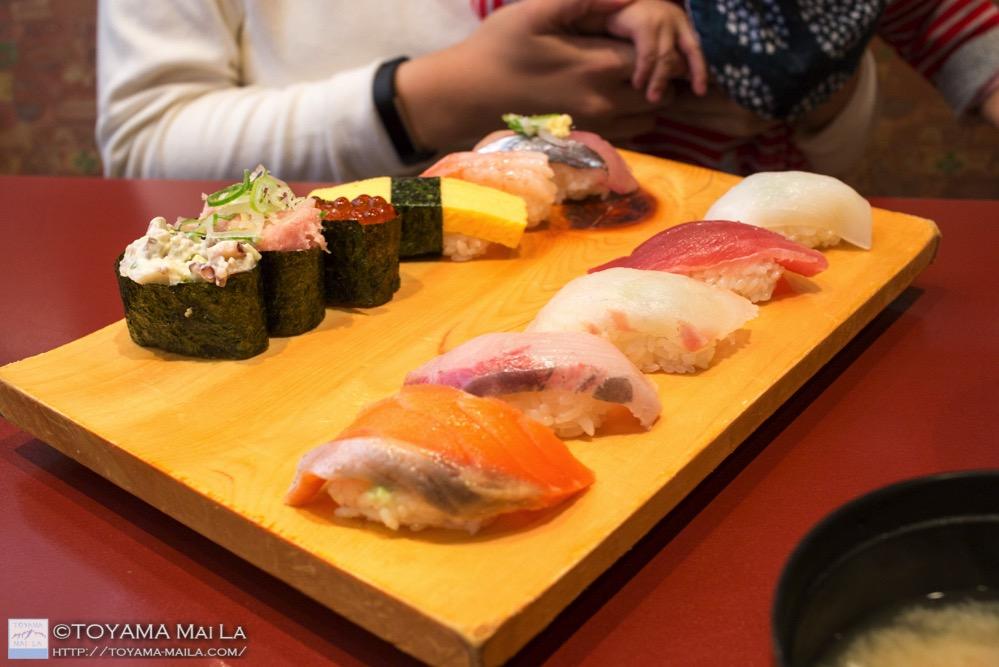 富山 番屋のすし ランチ toyama sushi lunch 2