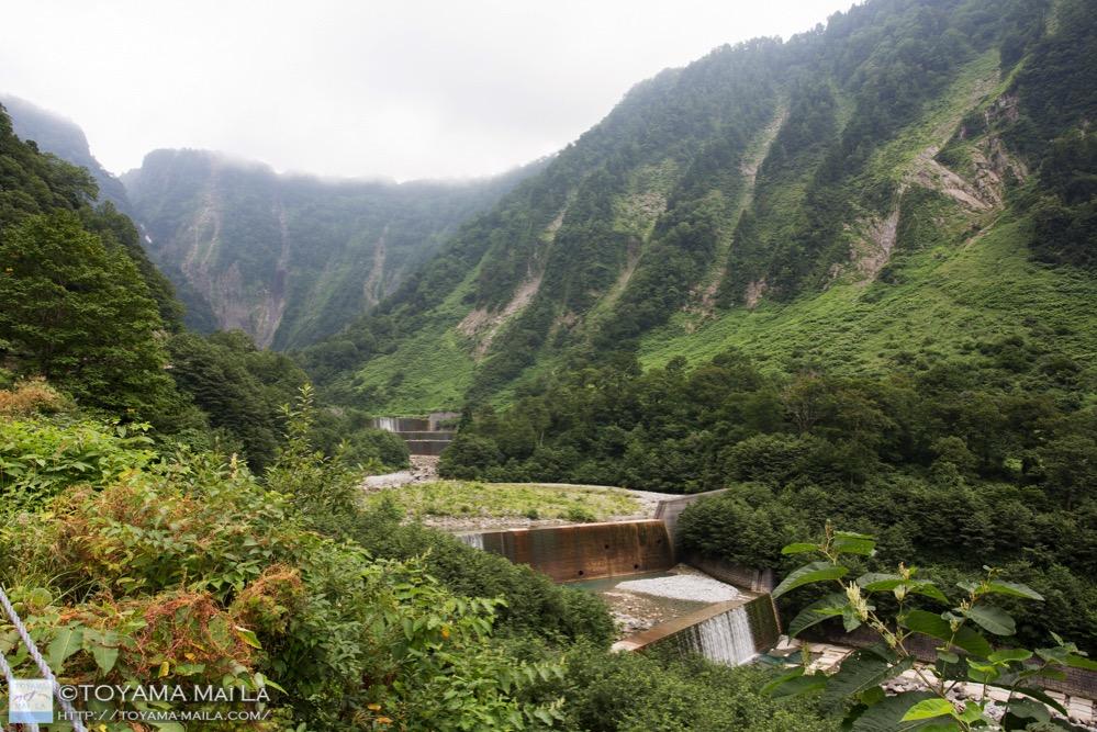 富山 百名瀑 称名滝 日本一 立山 2