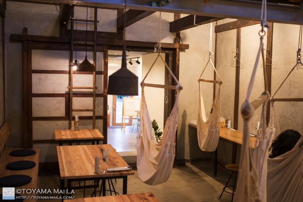 富山 滑川 カフェ ハンモックカフェ 9
