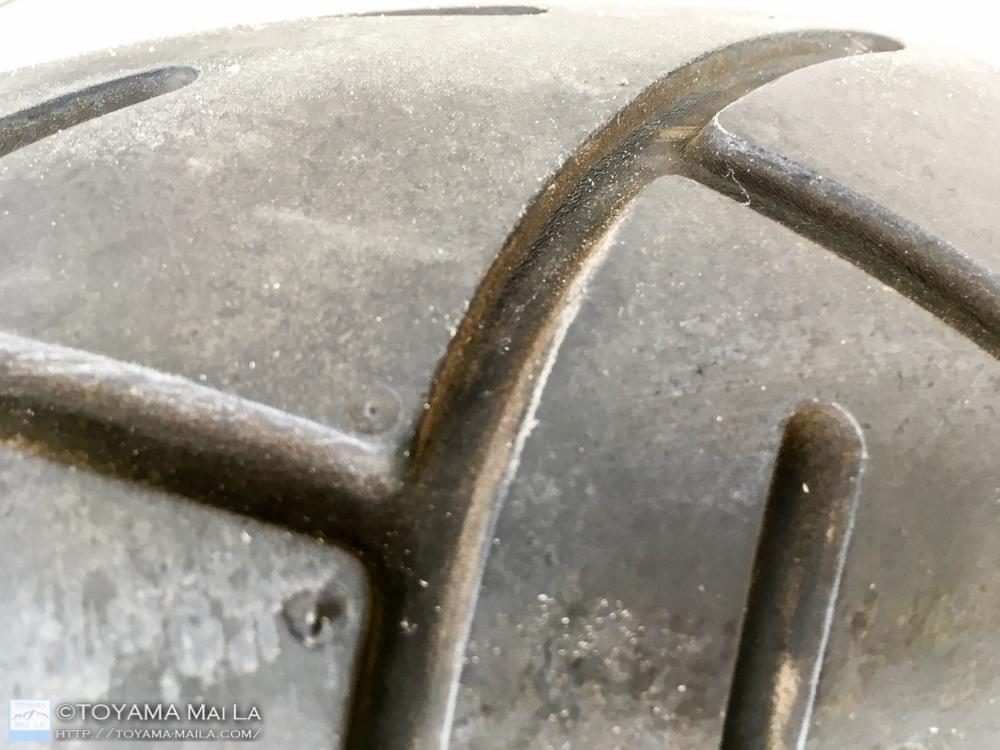 ハーレー FLHR ロードキング タイヤ交換 2