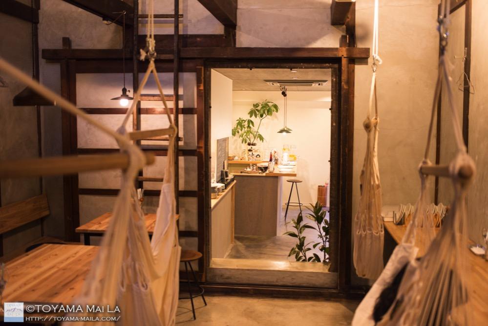 富山 滑川 カフェ ハンモックカフェ 15